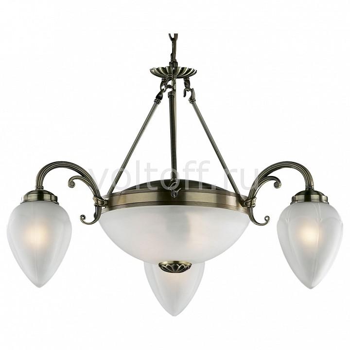 Подвесная люстра Odeon LightСветильники под бронзу<br>Артикул - OD_1990_5,Серия - Ovale<br>