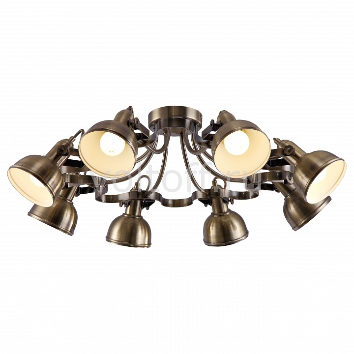 Спот Arte LampСветильники под бронзу<br>Артикул - AR_A5216PL-8AB,Серия - Martin<br>