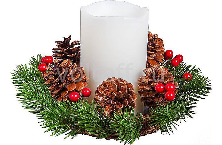 Светодиодная свеча Mister Christmas