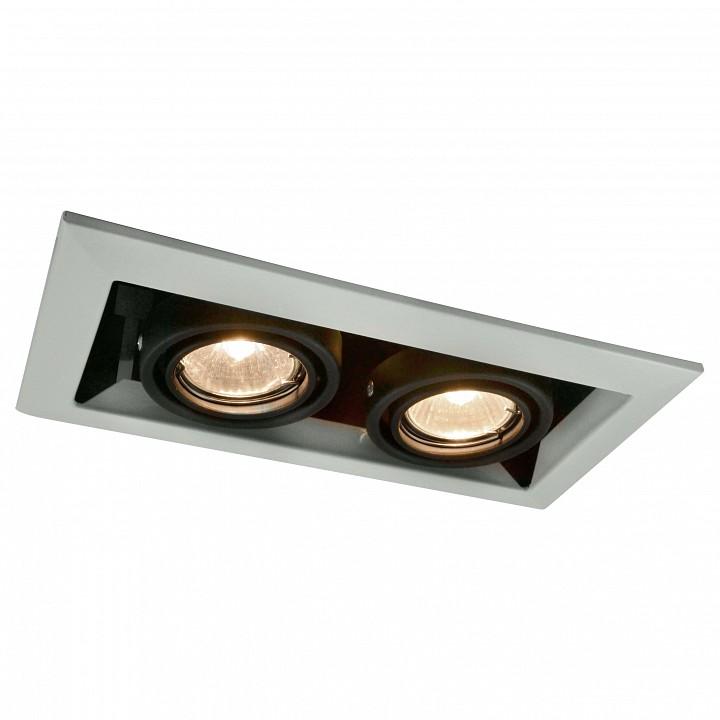 Встраиваемый светильник Arte LampСветильники для общественных помещений<br>Артикул - AR_A5941PL-2WH,Серия - Technika<br>