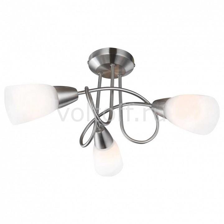 Потолочная люстра GloboПотолочные светильники модерн<br>Артикул - GB_67132-3,Серия - Indira<br>