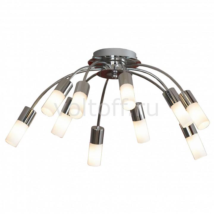Потолочная люстра LussoleПотолочные светильники модерн<br>Артикул - LSQ-2307-10,Серия - Recanati<br>