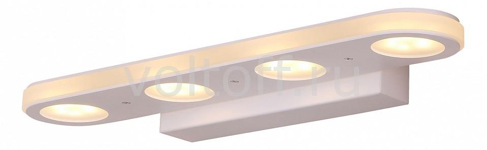 Накладной светильник ST-LuceСветодиодные настенные светильники<br>Артикул - SL584.101.04,Серия - Fintra<br>