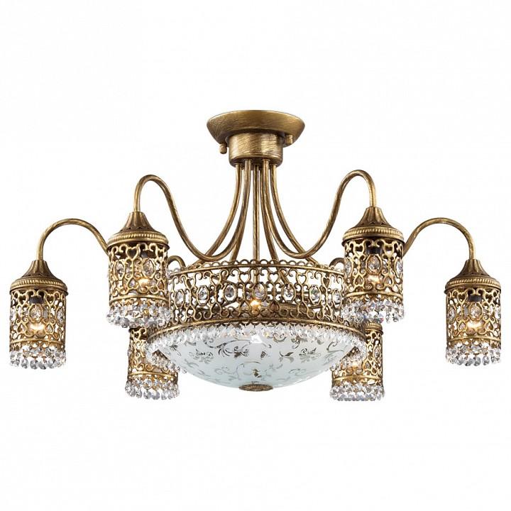 Потолочная люстра Odeon LightСветильники под бронзу<br>Артикул - OD_2641_9C,Серия - Salona<br>