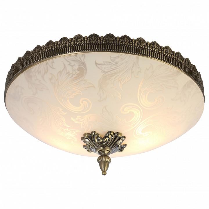 Накладной светильник Arte LampСветильники под бронзу<br>Артикул - AR_A4541PL-3AB,Серия - Crown<br>