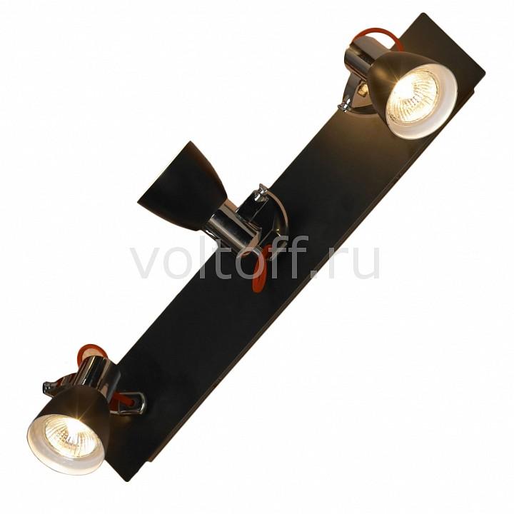 Спот LussoleМеталлические светильники<br>Артикул - LSL-7401-03,Серия - Frontino<br>