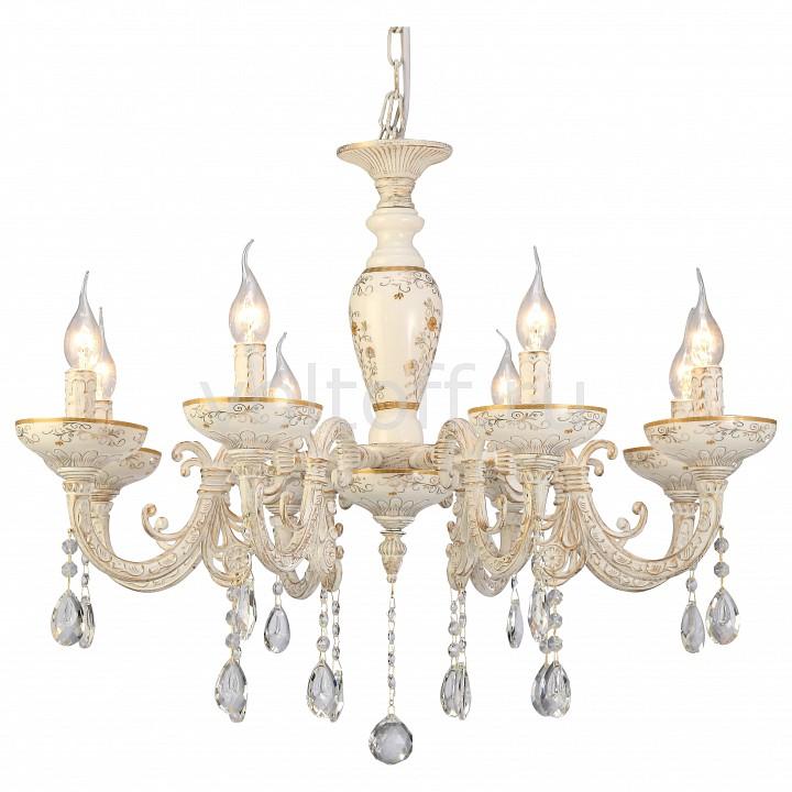 Подвесная люстра Arte LampЭлитные светильники<br>Артикул - AR_A5335LM-8WG,Серия - Dubai<br>