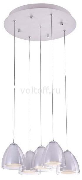 Подвесной светильник IDLampСветодиодные подвесные светильники<br>Артикул - ID_394_5-LEDWhite,Серия - 394<br>