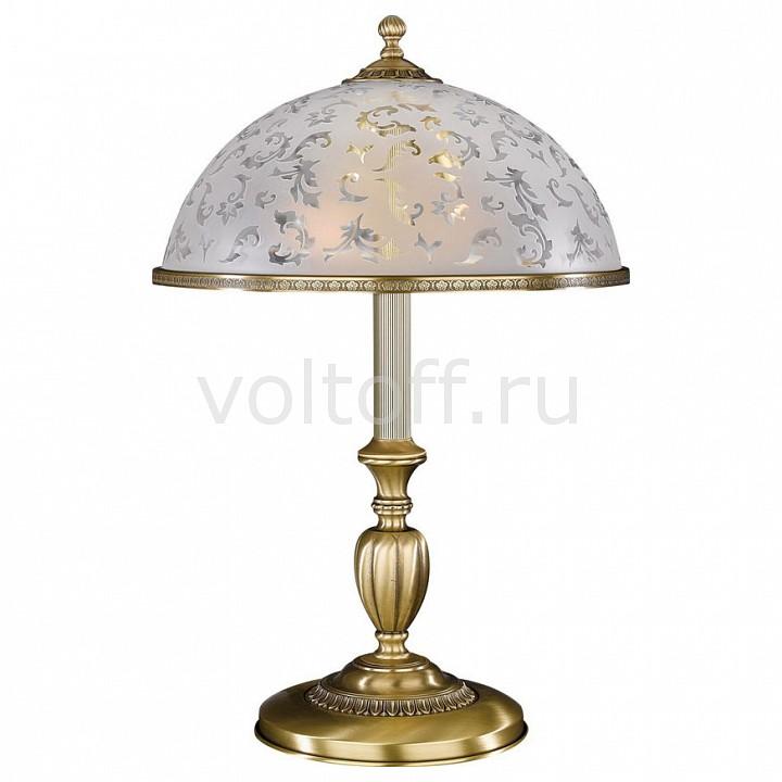 Настольная лампа Reccagni AngeloСветильники под бронзу<br>Артикул - RA_P_6202_G,Серия - 6202<br>