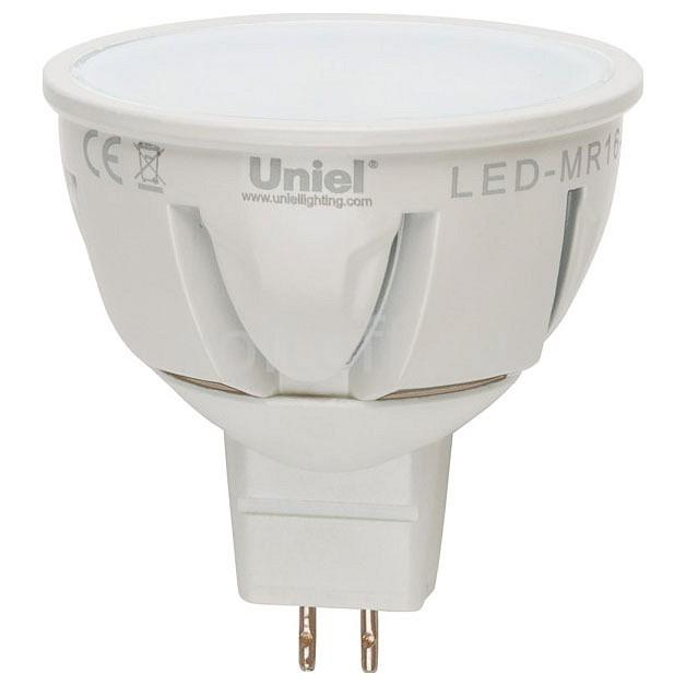 ����� ������������ Uniel GU5.3 220� 7�� 3000K LEDJCDR7WWWGU5.3FRALP01WH