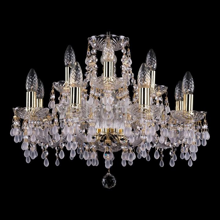 Подвесная люстра Bohemia Ivele CrystalЭлитные светильники<br>Артикул - BI_1410_8_4_195_G_0300,Серия - 1410<br>