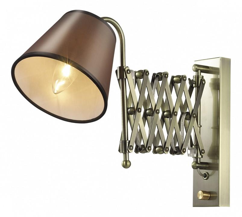 Бра Odeon LightСветильники под бронзу<br>Артикул - OD_2876_1W,Серия - Lark<br>
