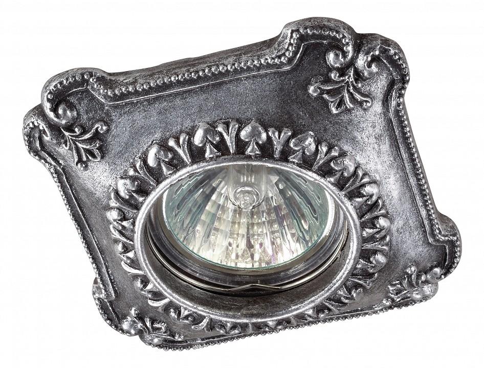 Встраиваемый светильник NovotechКлассические потолочные светильники<br>Артикул - NV_370085,Серия - Pattern<br>