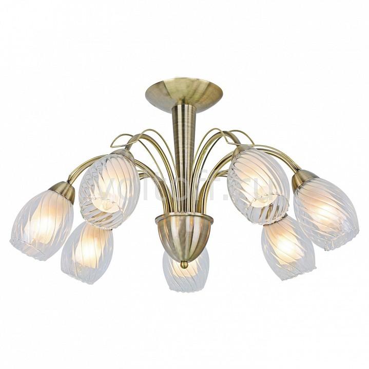 Люстра на штанге Arte LampСветильники под бронзу<br>Артикул - AR_A1673PL-7AB,Серия - Tempesta<br>