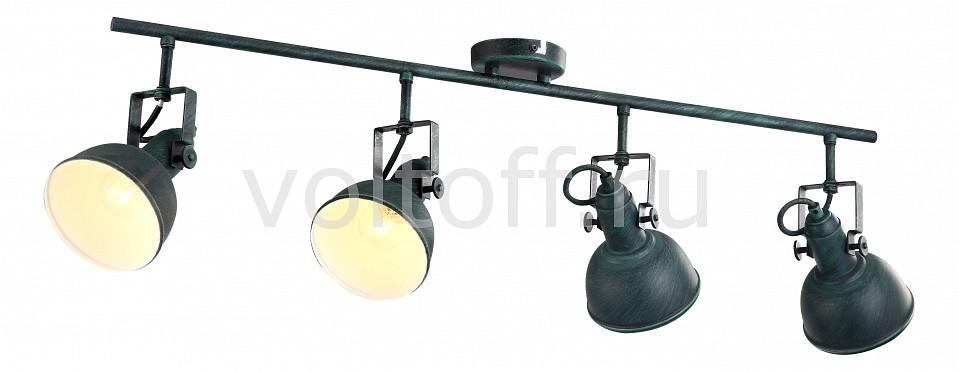 Спот Arte LampМеталлические светильники<br>Артикул - AR_A5215PL-4BG,Серия - Martin<br>