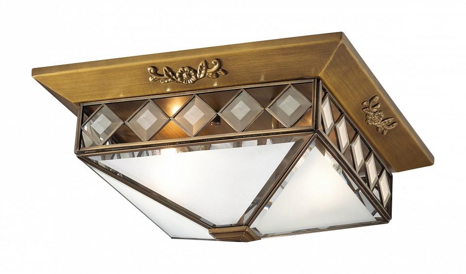Накладной светильник Odeon LightСветильники под бронзу<br>Артикул - OD_2544_2,Серия - Morne<br>