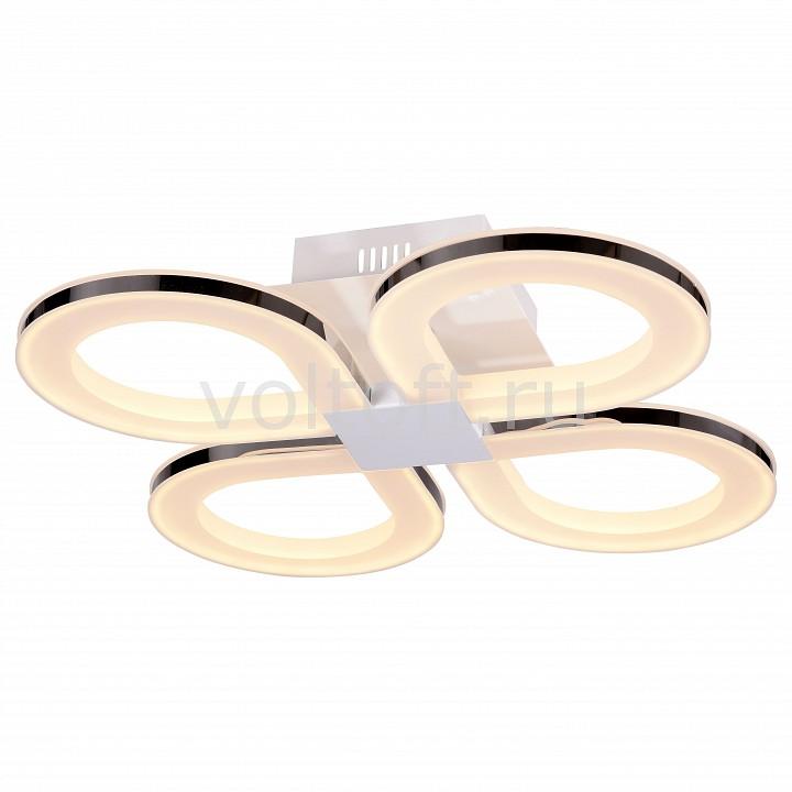 Потолочная люстра ST-LuceСветодиодные светильники<br>Артикул - SL869.552.04,Серия - Twiddle<br>