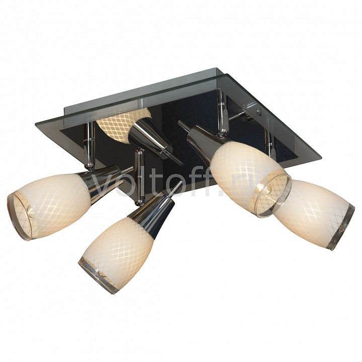 Спот LussoleПотолочные светильники модерн<br>Артикул - LSX-4801-04,Серия - Carlino<br>
