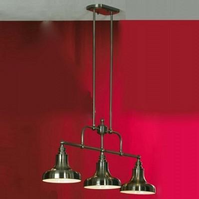 Подвесной светильник LussoleСветильники под бронзу<br>Артикул - LSL-3013-03,Серия - Sona<br>