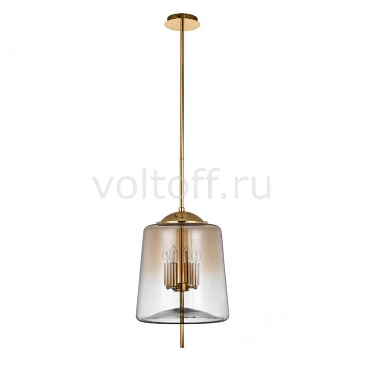 Светильник на штанге Crystal Lux MILAGRO SP4 B GOLD crystal lux hilton sp4 gold