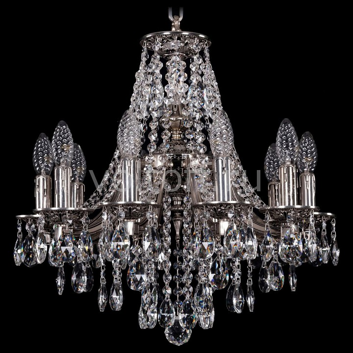 Подвесная люстра Bohemia Ivele Crystal 1771/10/150/B/NB york мыльница transparent york