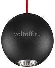 Подвесной светильник Nowodvorski Bubble Black-Red 6146 спот nowodvorski bubble 6153