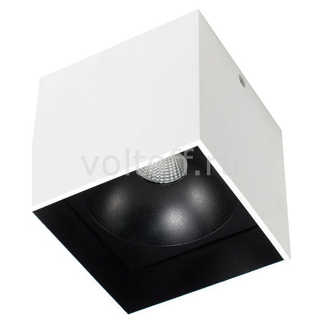 Накладной светильник Donolux DL18416/11WW-SQ White/Black donolux dl18416 11ww r black white