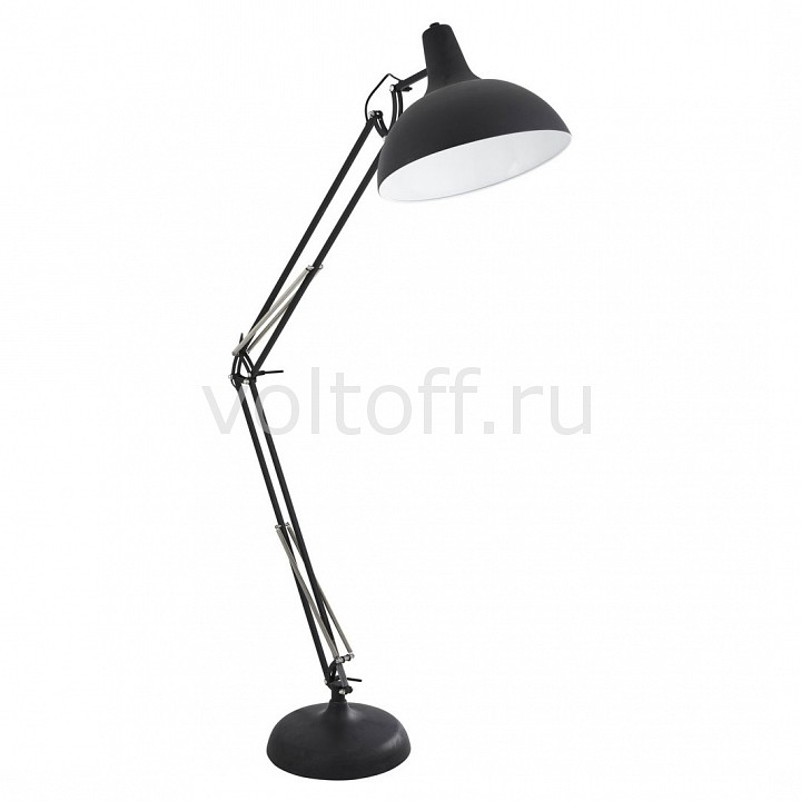 Торшер Arte Lamp Goliath A2487PN-1BK  цена