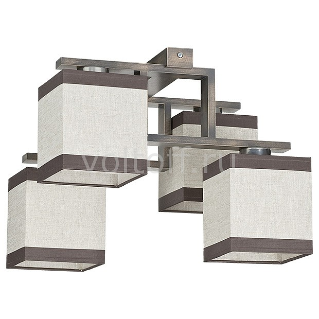 Люстра на штанге TK Lighting 409 Lea gray 4 потолочная люстра tk lighting 408 lea gray 2