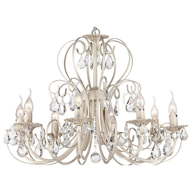 Подвесная люстра Maytoni Elegant 8 ARM270-08-R люстра maytoni princess arm270 12 r