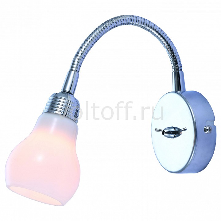 Бра Arte Lamp Lettura A5271AP-1CC бра arte lamp brooklyn a9484ap 1cc