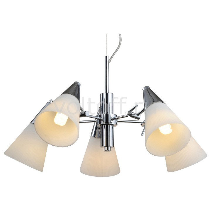 Подвесная люстра Arte Lamp Brooklyn A9517LM-5CC бра arte lamp brooklyn a9484ap 1cc