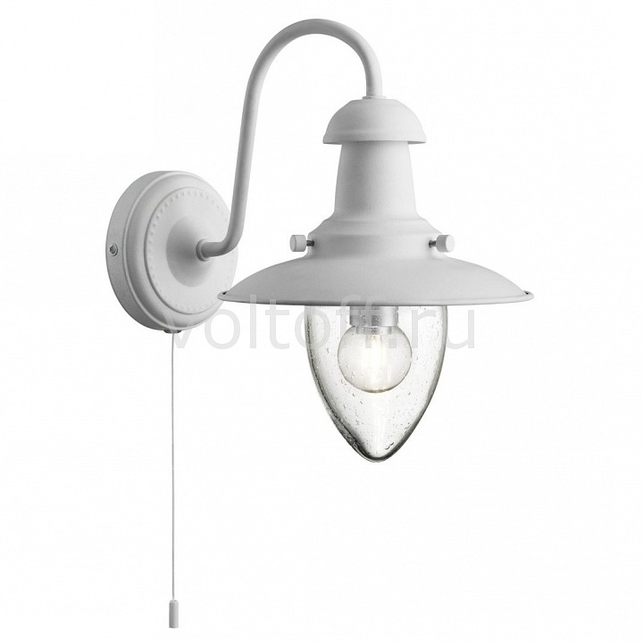 Бра Arte Lamp Fisherman A5518AP-1WH arte lamp бра fisherman a5518ap 1ss
