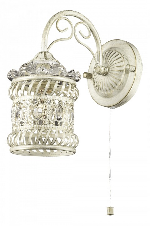 Бра Odeon Light Zafran 2837/1W odeon light потолочная люстра odeon light zafran 2837 6c