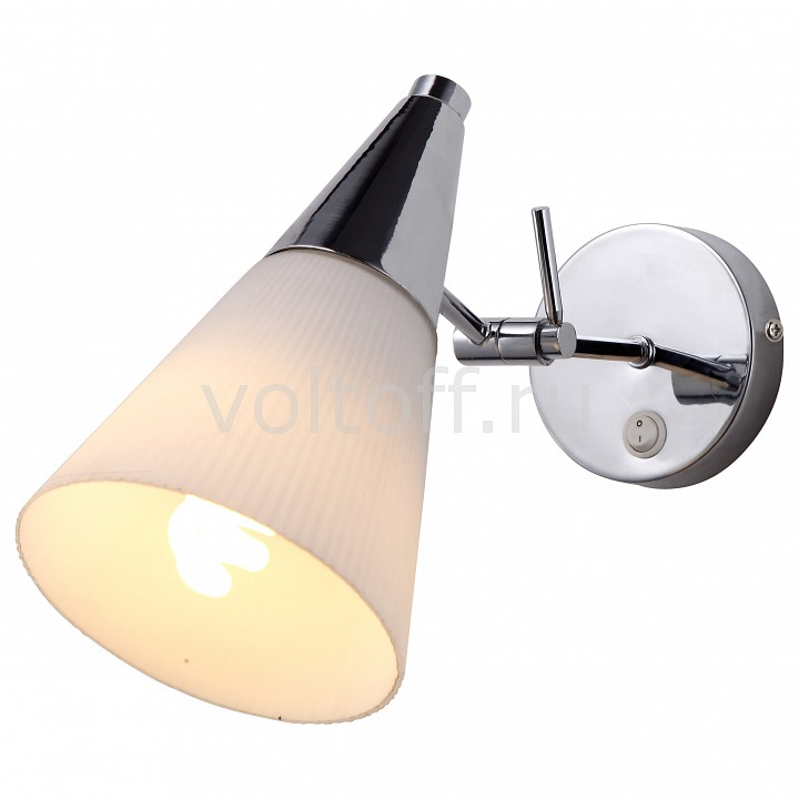 Бра Arte Lamp Brooklyn A9517AP-1CC подвесной светильник arte lamp brooklyn a6604sp 3wh