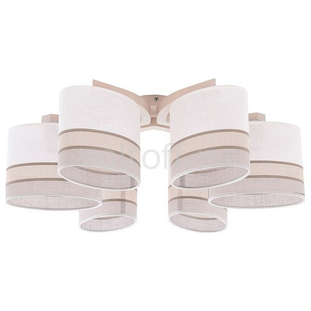 Потолочная люстра TK Lighting 692 Daria Natur 6 daria bardeeva