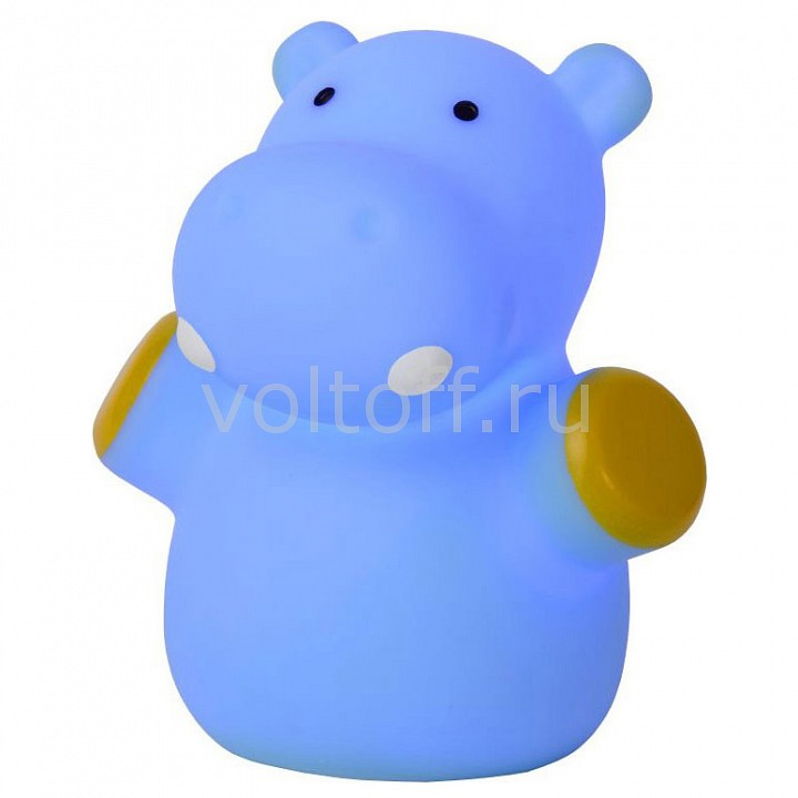 Ночник Lucide Hippo 71556/21/35 the pygmy hippo story