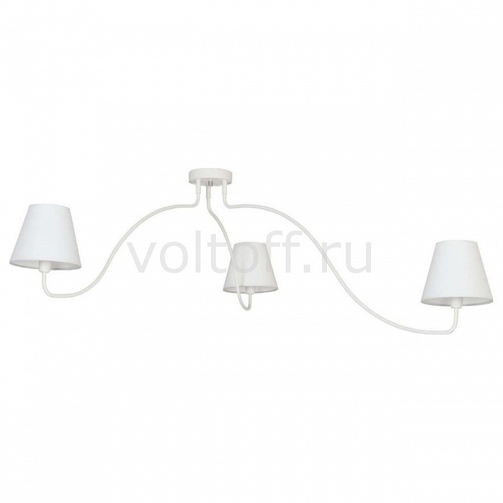 Потолочная люстра Nowodvorski Swivel White 6545 nowodvorski swivel white vi plafon