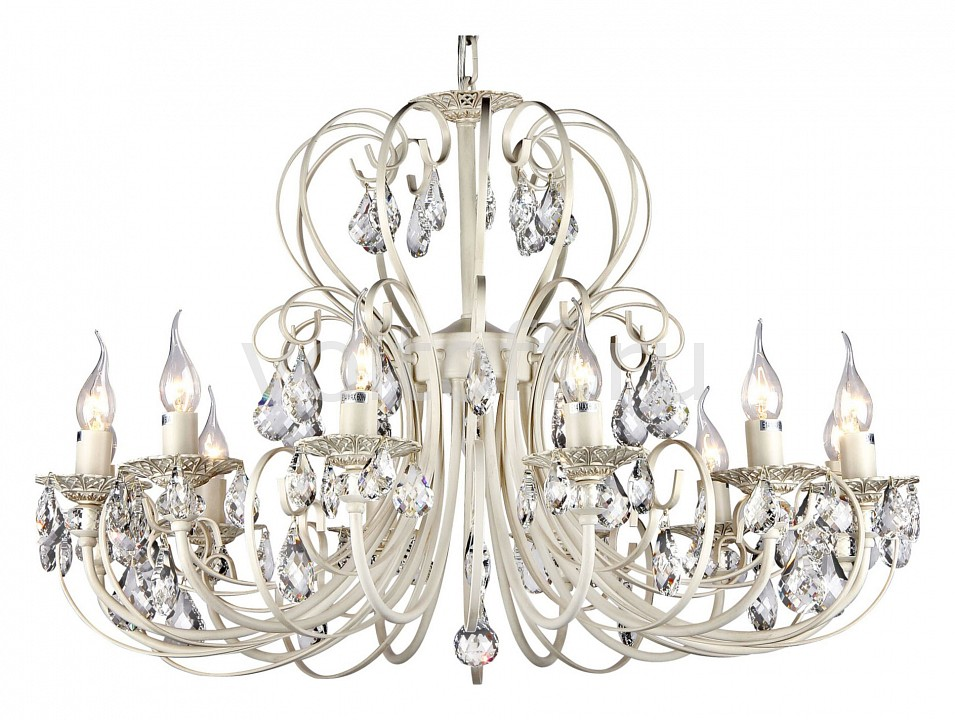 Подвесная люстра Maytoni Elegant 8 ARM270-12-R люстра maytoni princess arm270 12 r