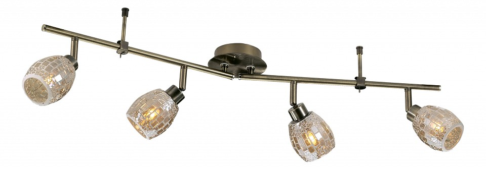 Спот Odeon Light Glosse 2166/4W c odeon light glosse 2166 3w