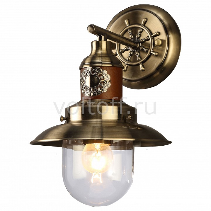 Бра Arte Lamp Sailor A4524AP-1AB бра arte lamp sailor a4524ap 1wg