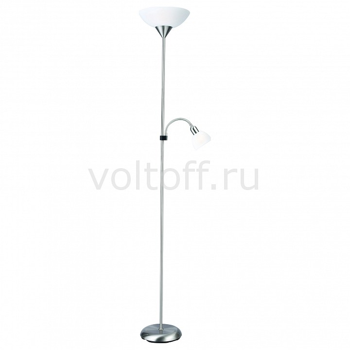 Торшер с подсветкой Arte Lamp Duetto A9569PN-2SI торшер arte lamp duetto led a5905pn 2cc