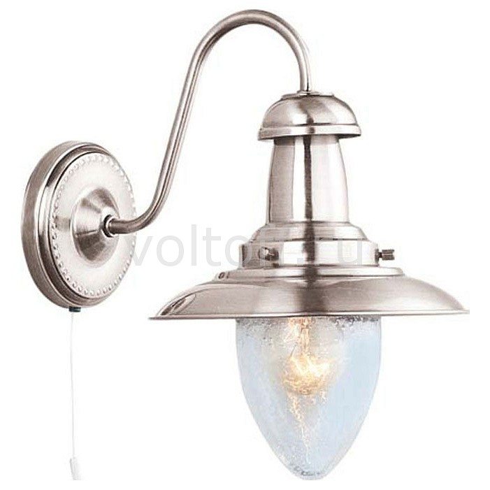 Бра Arte Lamp Fisherman A5518AP-1SS arte lamp бра fisherman a5518ap 1ss