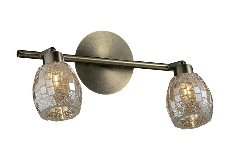 Спот Odeon Light Glosse 2166/2W c odeon light glosse 2166 3w