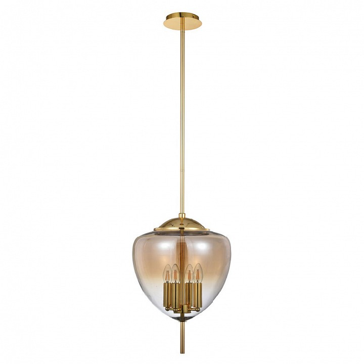 Светильник на штанге Crystal Lux MILAGRO SP4 A GOLD