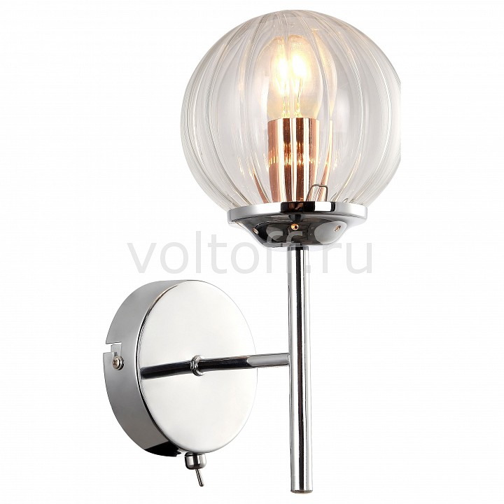 Бра Arte Lamp Arancia A9276AP-1CC бра arte lamp brooklyn a9484ap 1cc