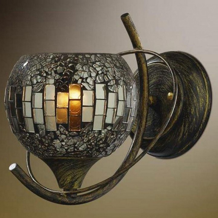 Бра Odeon Light Mosaic 2106/1W tiffany of shipping complex table lamps antique mosaic burner plug oil wedding retro wind mosaic aroma table light
