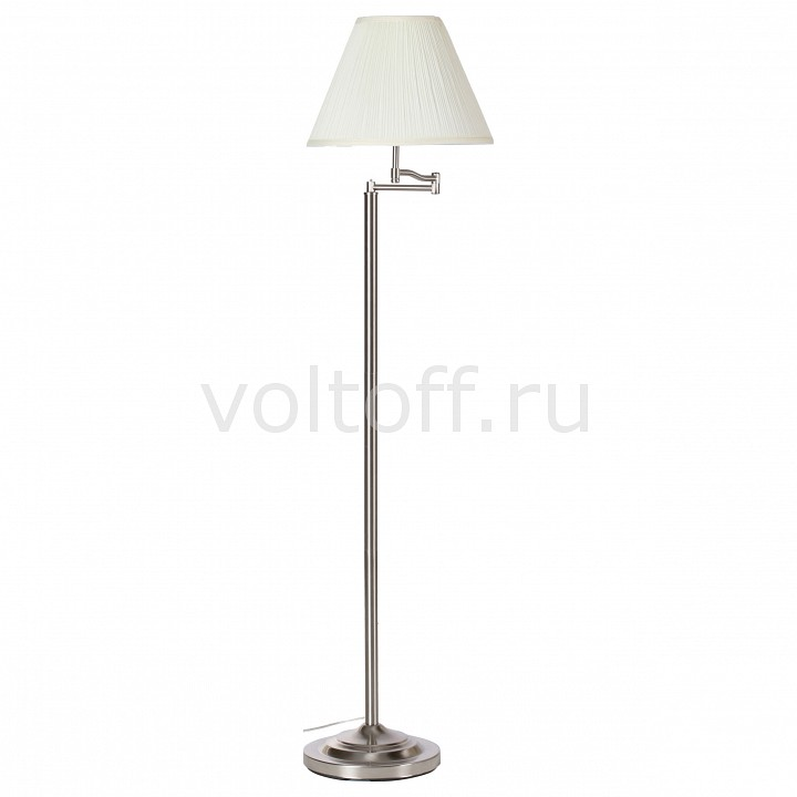 Торшер Arte Lamp California A2872PN-1SS коляска 2 в 1 inglesina trilogy system duo на шасси trilogy city white aa34k6mgl ae38k3200